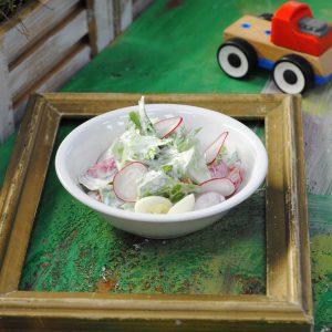 Домашний салат с овощами - Лесная полянка